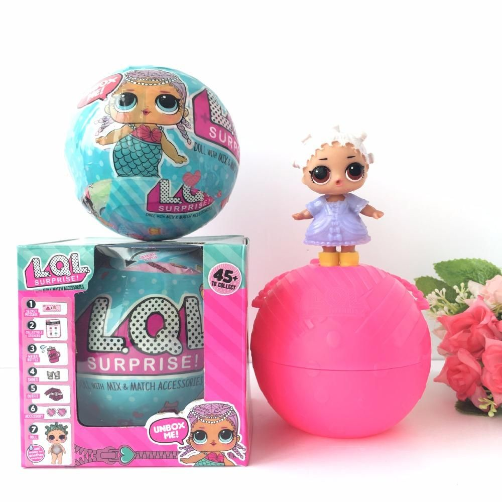 Series 2 Lql Surprise Lil Little Sisters Doll 5 Layers L Q L