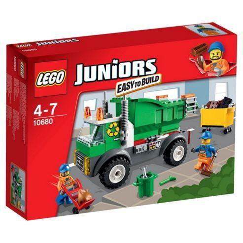 Lego Juniors Garbage Truck 10680 Kids Lego Juniors Lego Junior Sets Garbage Truck