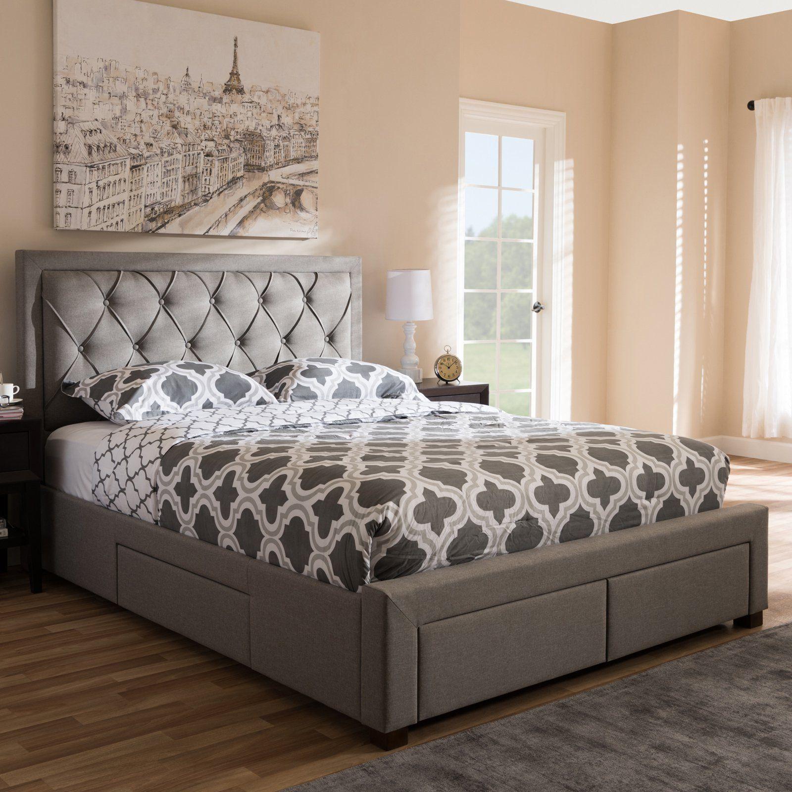 Best Baxton Studio Aurelie Modern And Contemporary Fabric 640 x 480