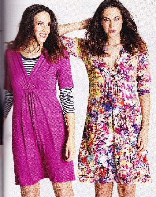 Prima Sewing Pattern, September 2015, Ladys Dress in 2 Lengths with ...