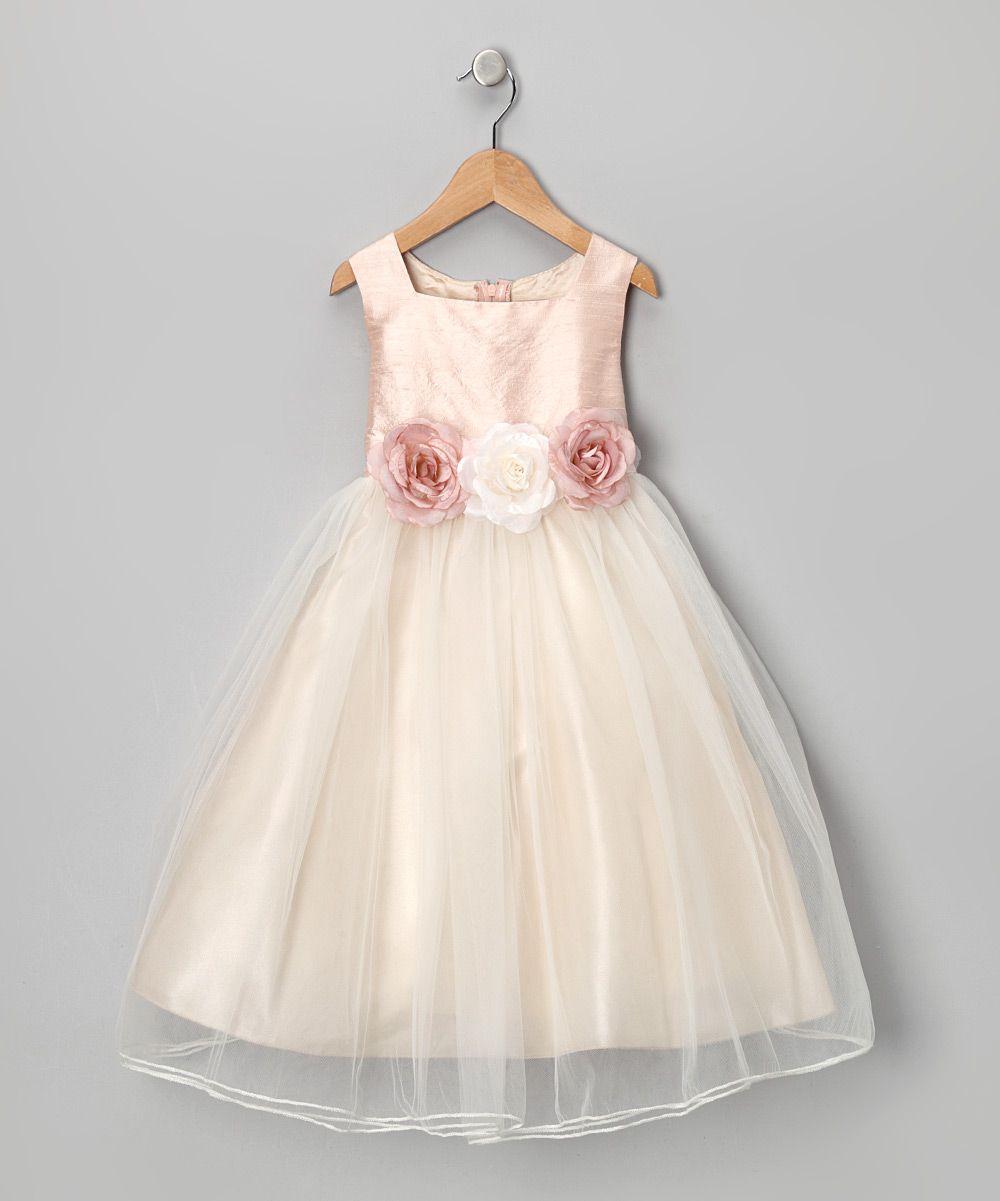 Dusty rose silk dress infant toddler u girls daily deals for
