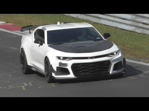 Watch The 2018 Camaro Zl1 1le Setting Its Ring Lap Time