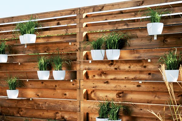 25 fence planters that u0026 39 ll have you loving your privacy fence again