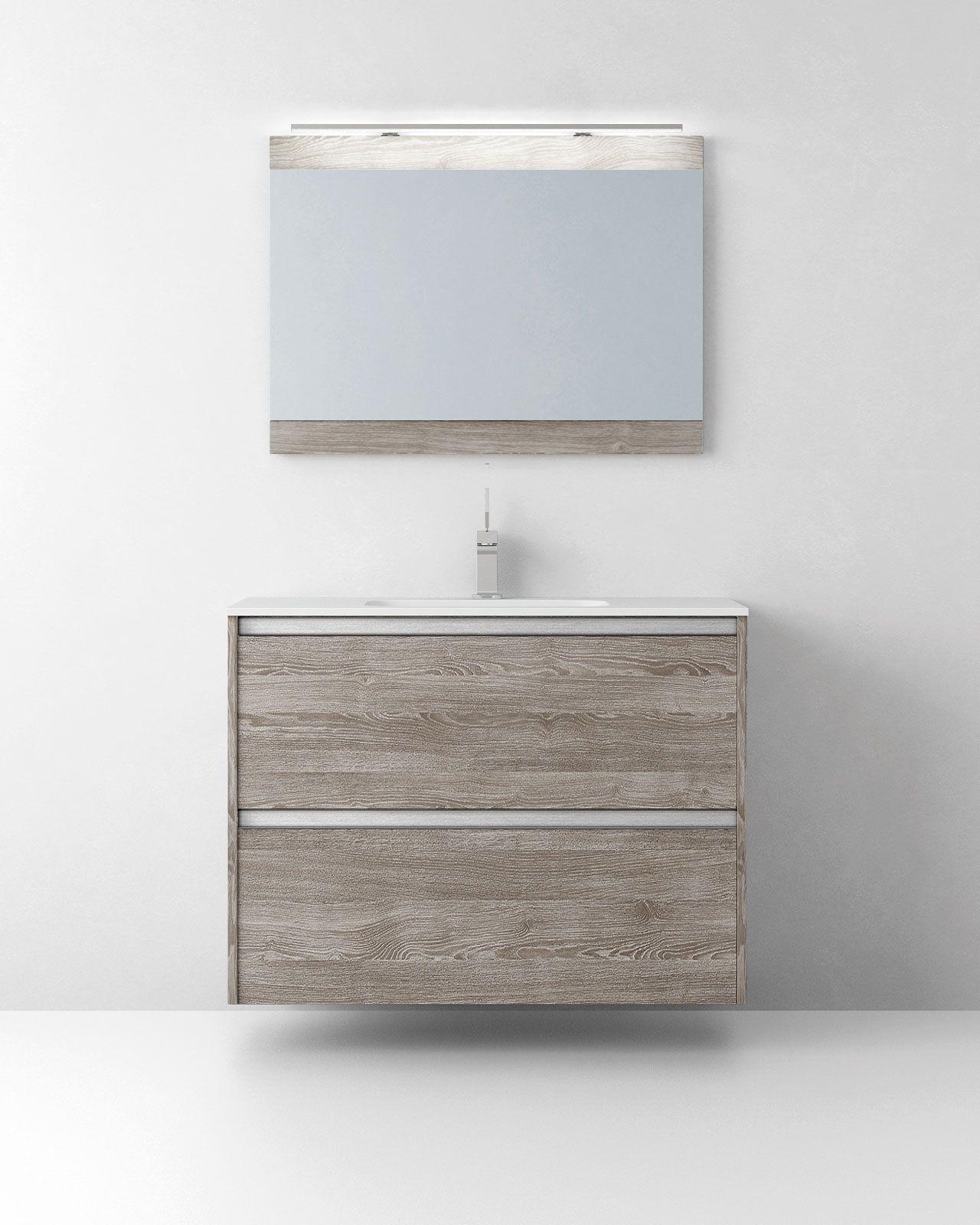 Conjunto de ba o moderno a medida muebles de ba o for Banos modernos y economicos