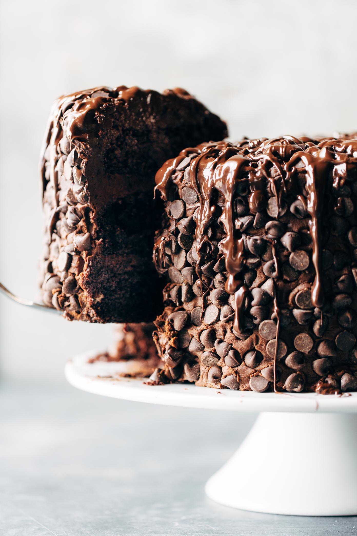 Blackout Chocolate Cake #chocolatecake