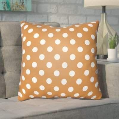 The Holiday Aisle Hessler Halloween Polkadots Indoor Outdoor Throw Pillow The Holiday Aisle Sponsored Ad Hess Throw Pillows Pillows Chevron Throw Pillows
