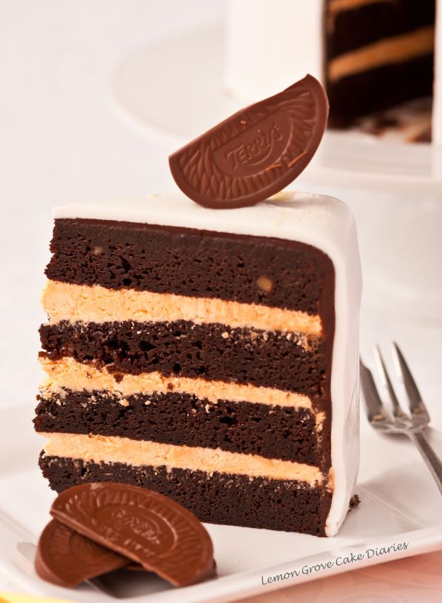 Terry S Chocolate Orange Cake Cake Walk Chocolat Dessert Sucre