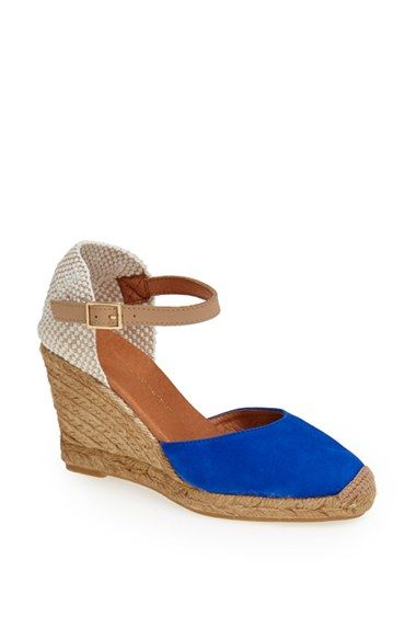 Kg by kurt geiger Monty Wedge Espadrille Shoes in Blue | Lyst