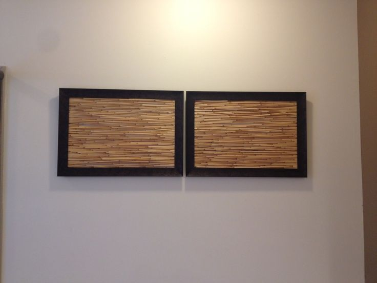 Bamboo Wood Wall Decor : Bamboo stick wall art google search
