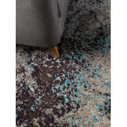 Photo of benuta Teppich Casa Anthrazit/Blau 200×290 cm – Vintage Teppich im Used-Look benuta