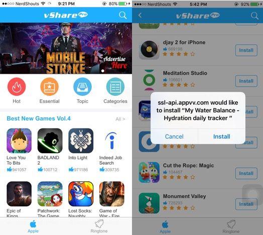 How to Install vShare on iOS 9 – iOS 9.2 (iPhone / iPad)