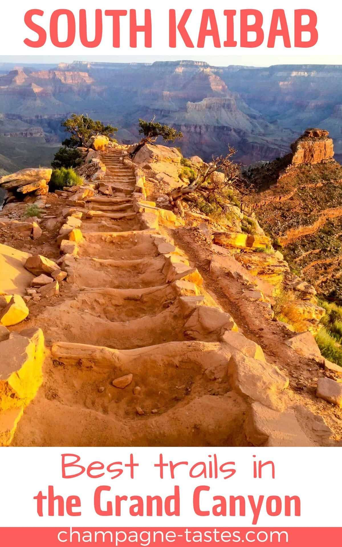 South Kaibab Trail in the Grand Canyon (Rim to River Trailguide)