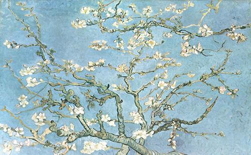 almond branches vincent van gogh Van gogh almond