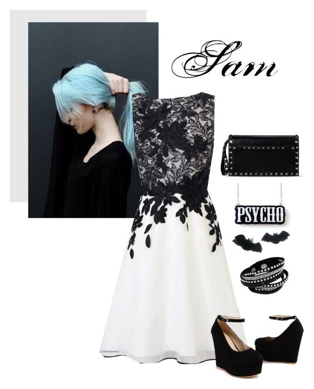 """""""Untitled #58"""" by redcurlz on Polyvore featuring Coast, Sidewalk, Valentino, women's clothing, women, female, woman, misses and juniors"""