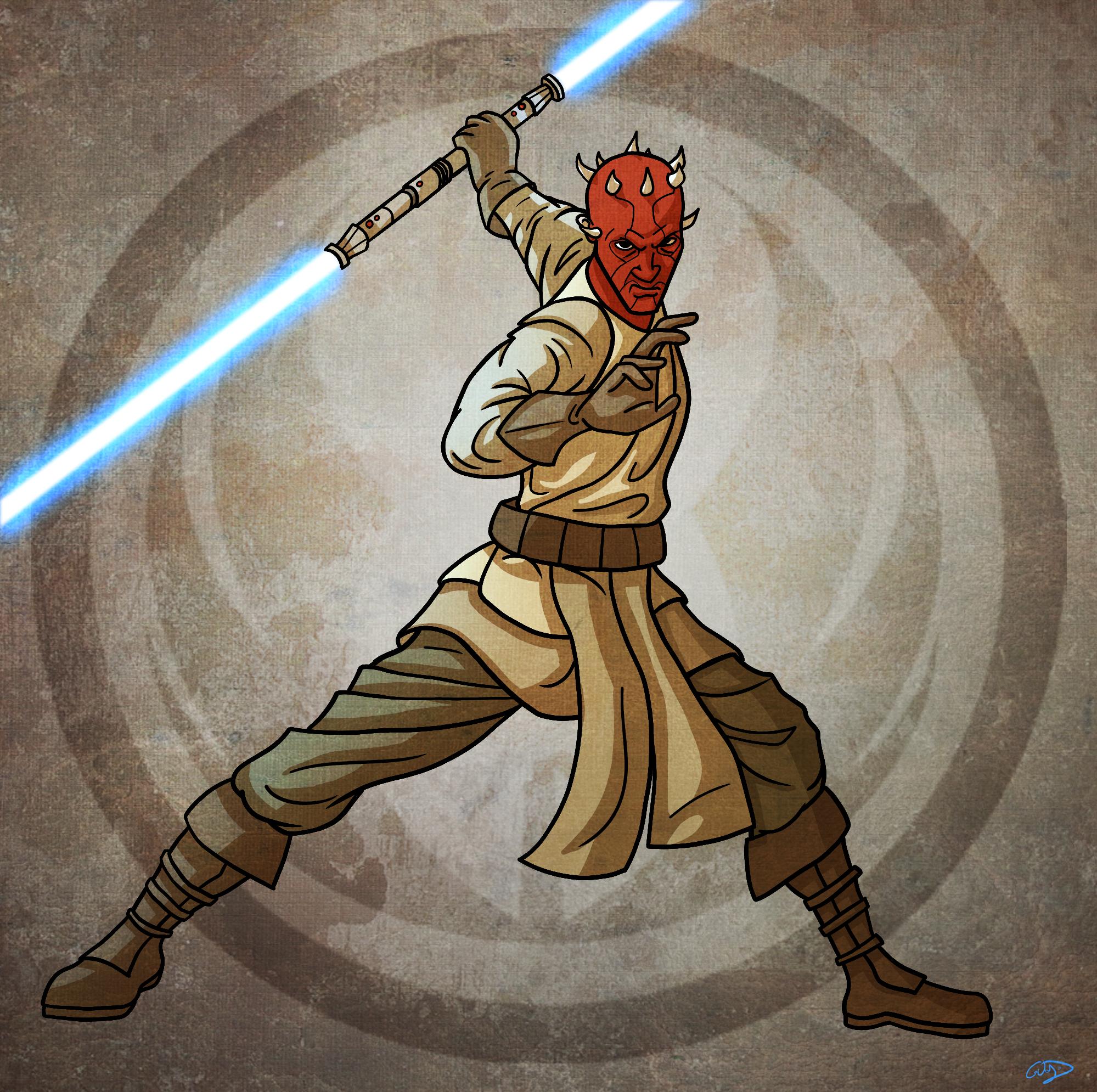 1 Of 15 Maul By Smacksart On Deviantart Star Wars Rpg Star Wars Images Star Wars Poster