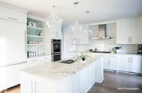 white and ice blue kitchen shaker - Google Search