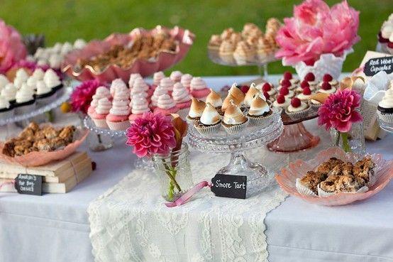 Resultado de imagem para sweet buffet for wedding