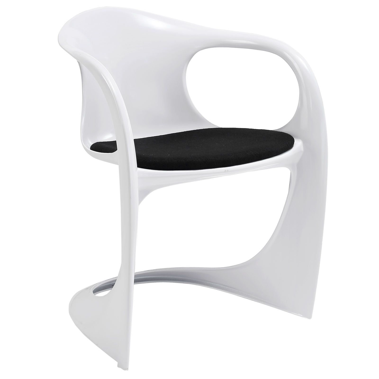 $103 Sequence Dining Armchair EEI-1086-BLK by LexMod | Gallery ...