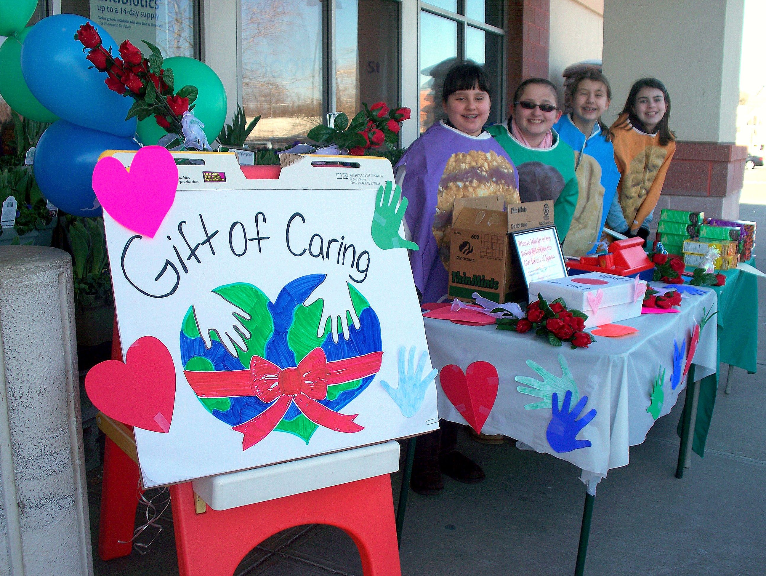 Bling Your Booth with Gift of Caring ~ #Bling