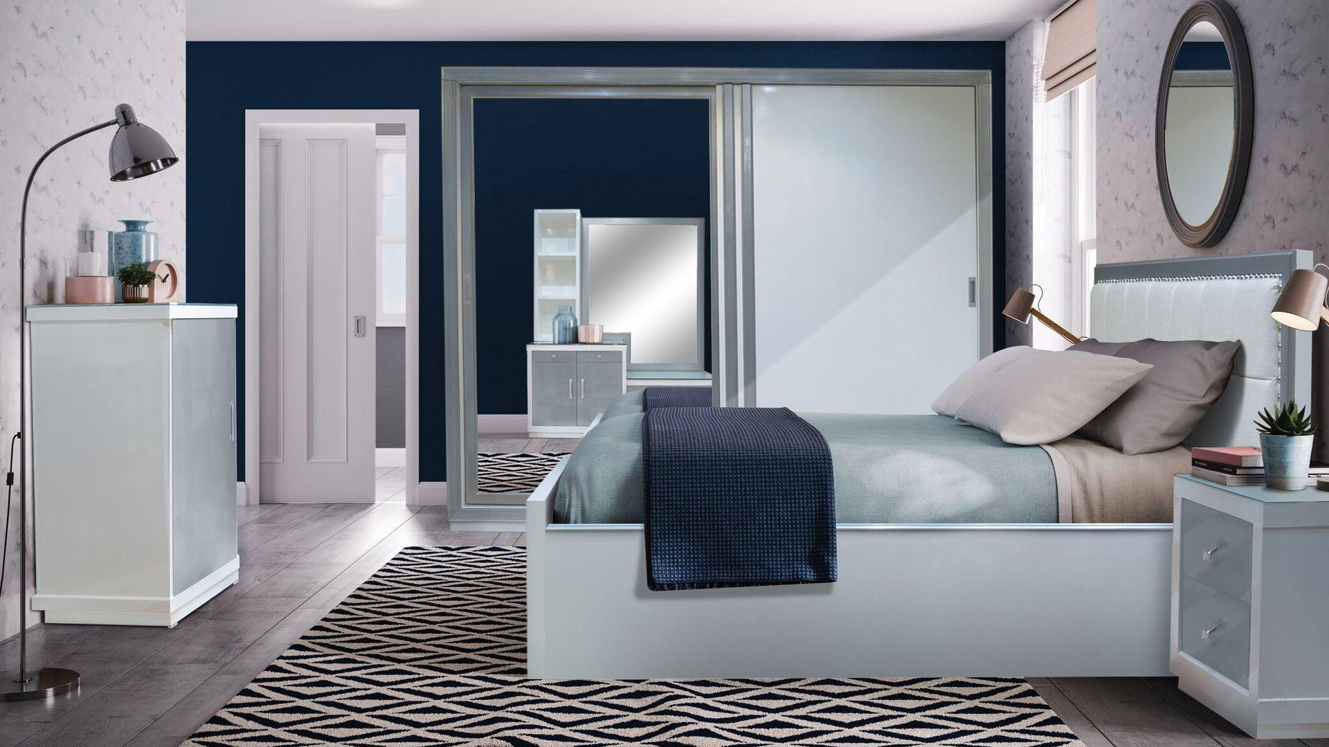 غرفة نوم مودرن White Bedroom Color Schemes Drawing Room Furniture Bedroom Colors