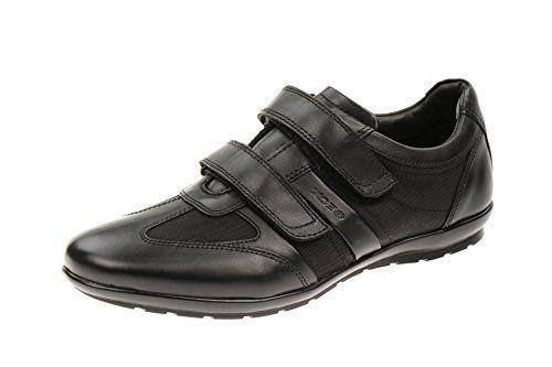 U Symbol D, Sneakers Basses homme, Noir (C9999), 39 EUGeox