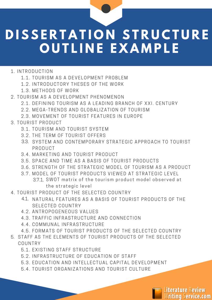 With this great dissertation structure outline examples