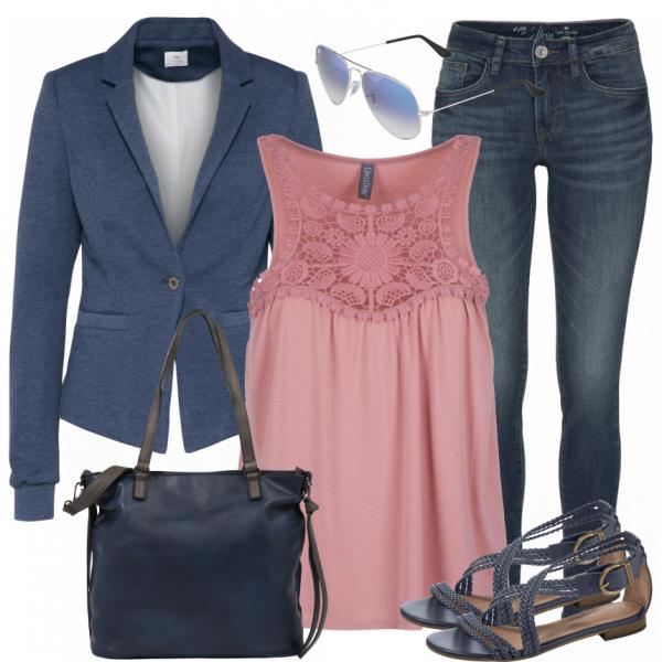 carlina Damen Outfit - Komplettes Freizeit Outfit günstig kaufen    FrauenOutfits.de c5202f61d5