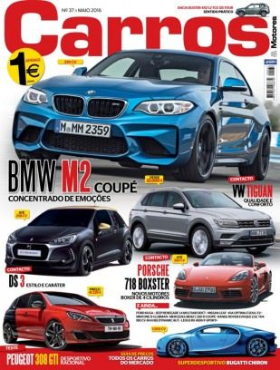 Carros Maio 2016 digital magazine - Read the digital edition by Magzter on your iPad, iPhone, Android, Tablet Devices, Windows 8, PC, Mac and the Web.