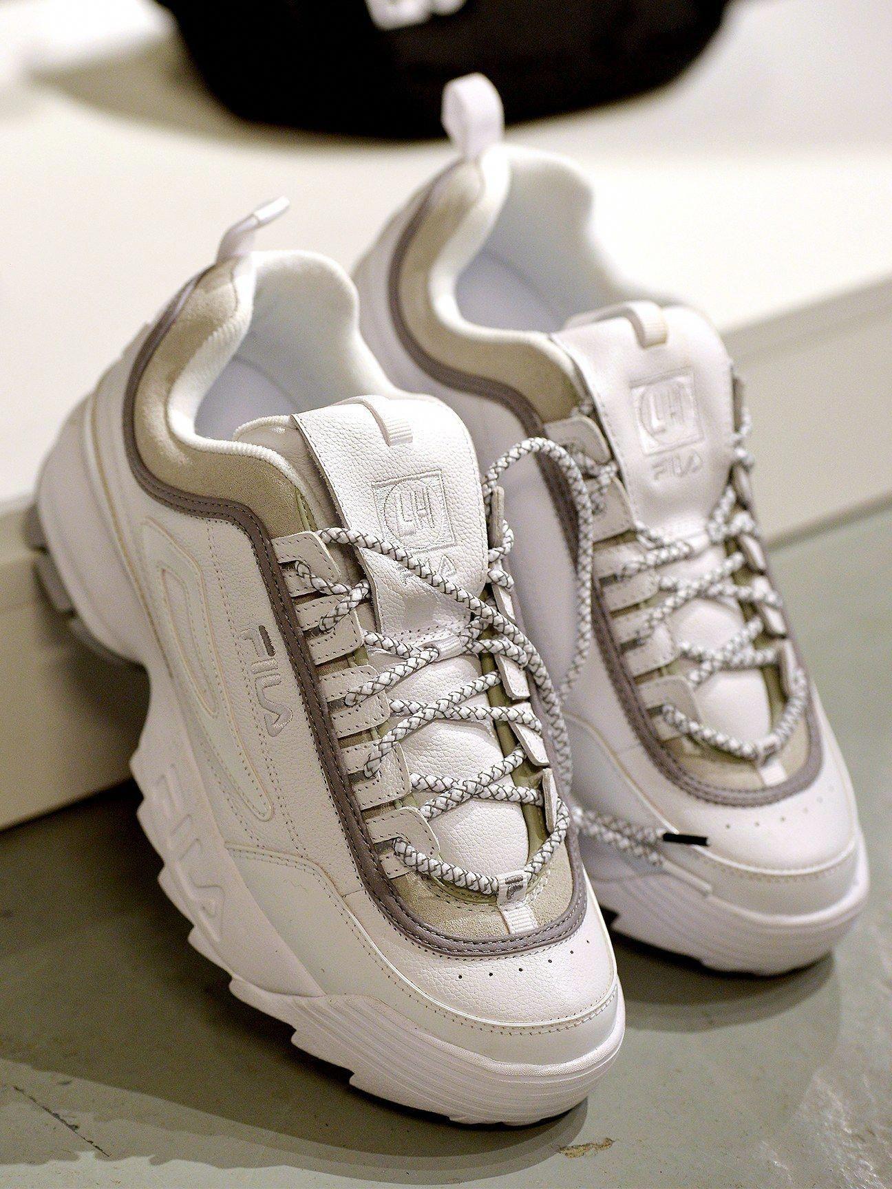Liam Hodges x Fila #MensFashionSneakers