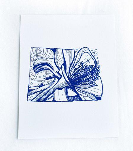 Colorado with Columbine flower print. Love!
