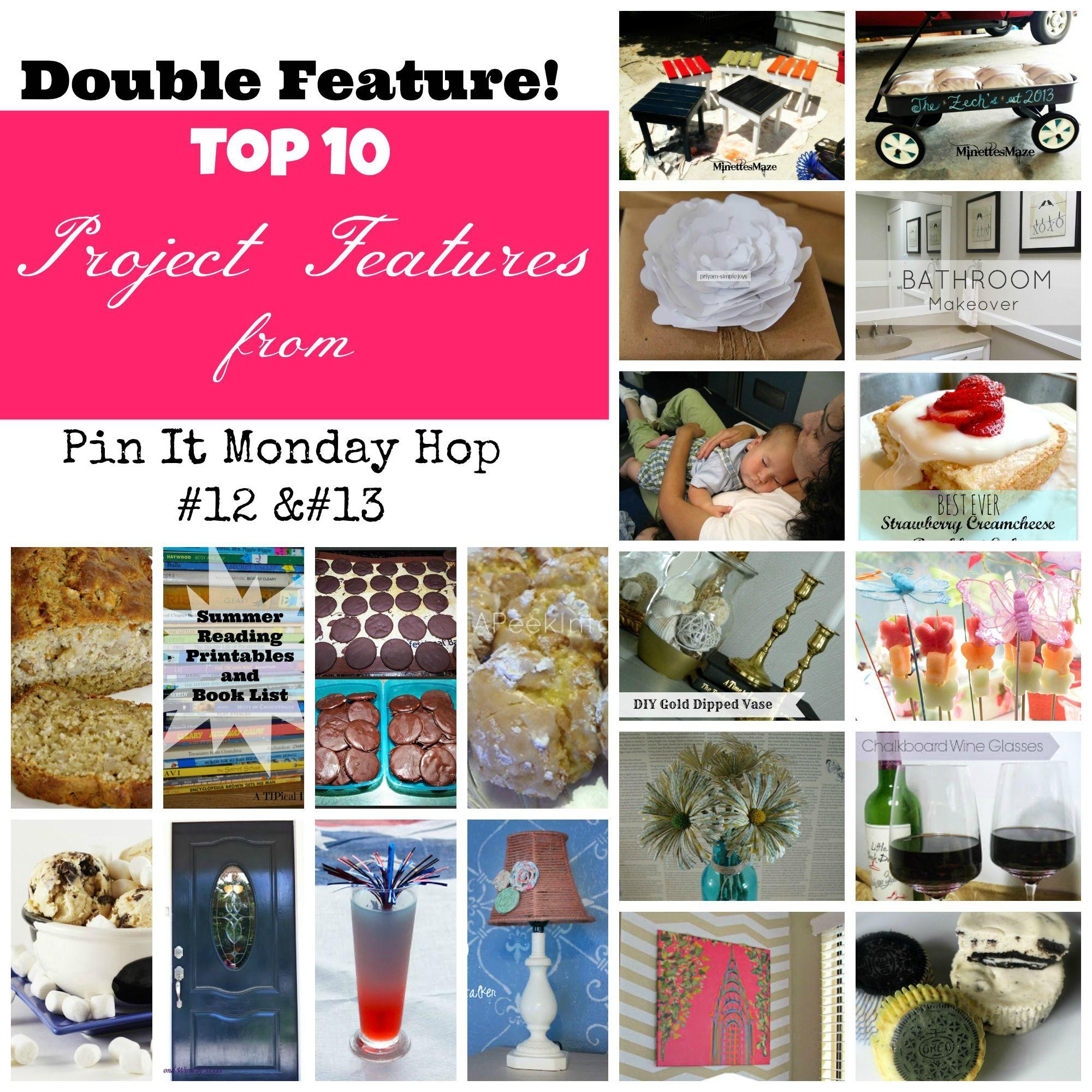 Double feature top pimh u diy crafts pinterest