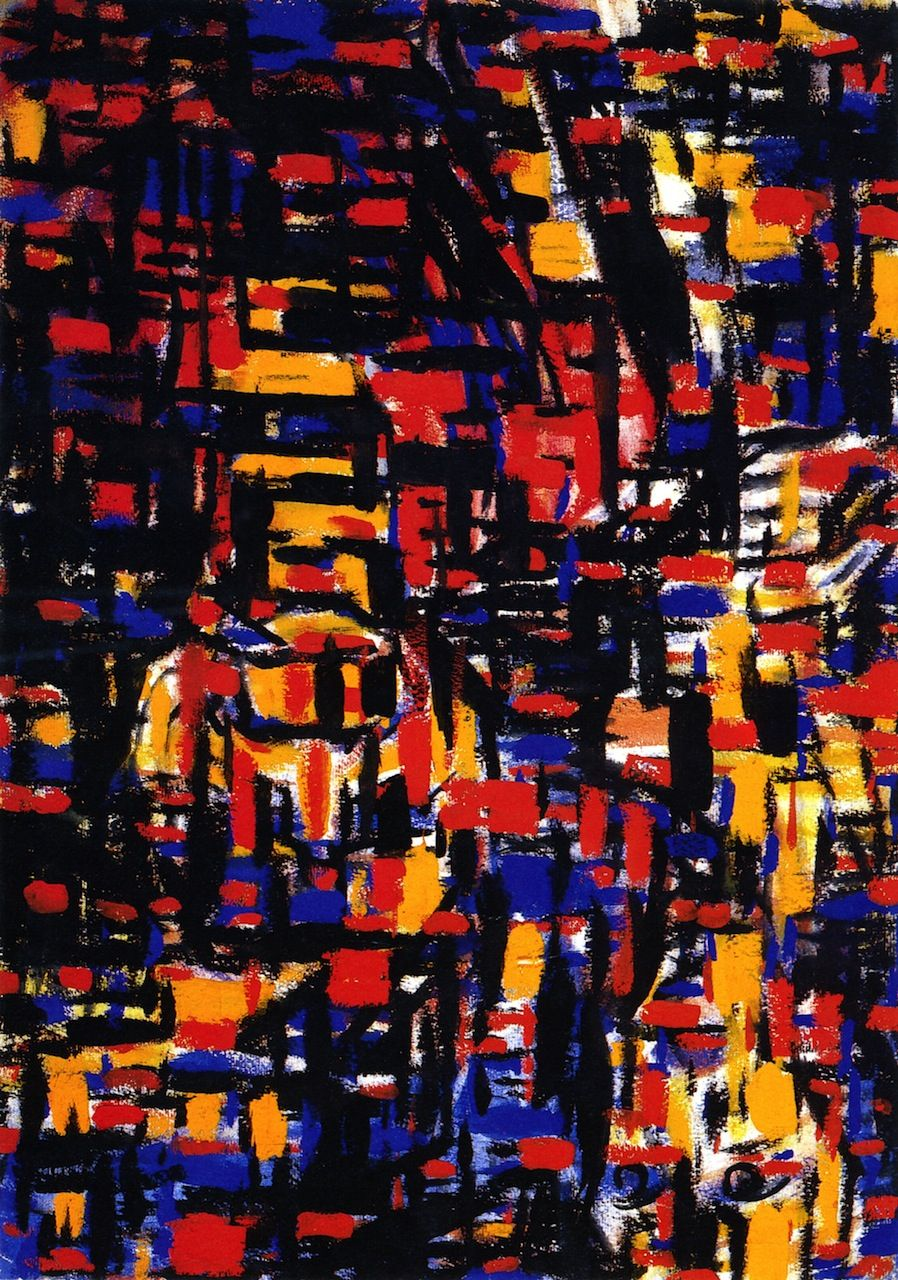Christian Rohlfs, Fantastic Mosaic, 1920-1921