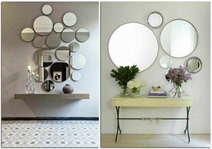 1001 ideas de decoraci n con espejos para tu hogar - Espejos redondos pequenos ...