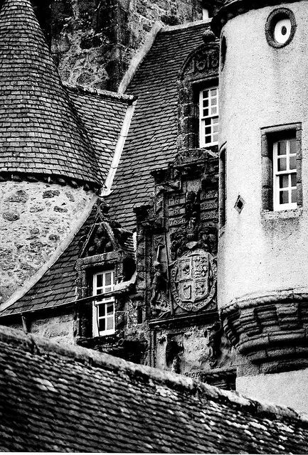 Castle Fraser, Aberdeenshire, Scotland.