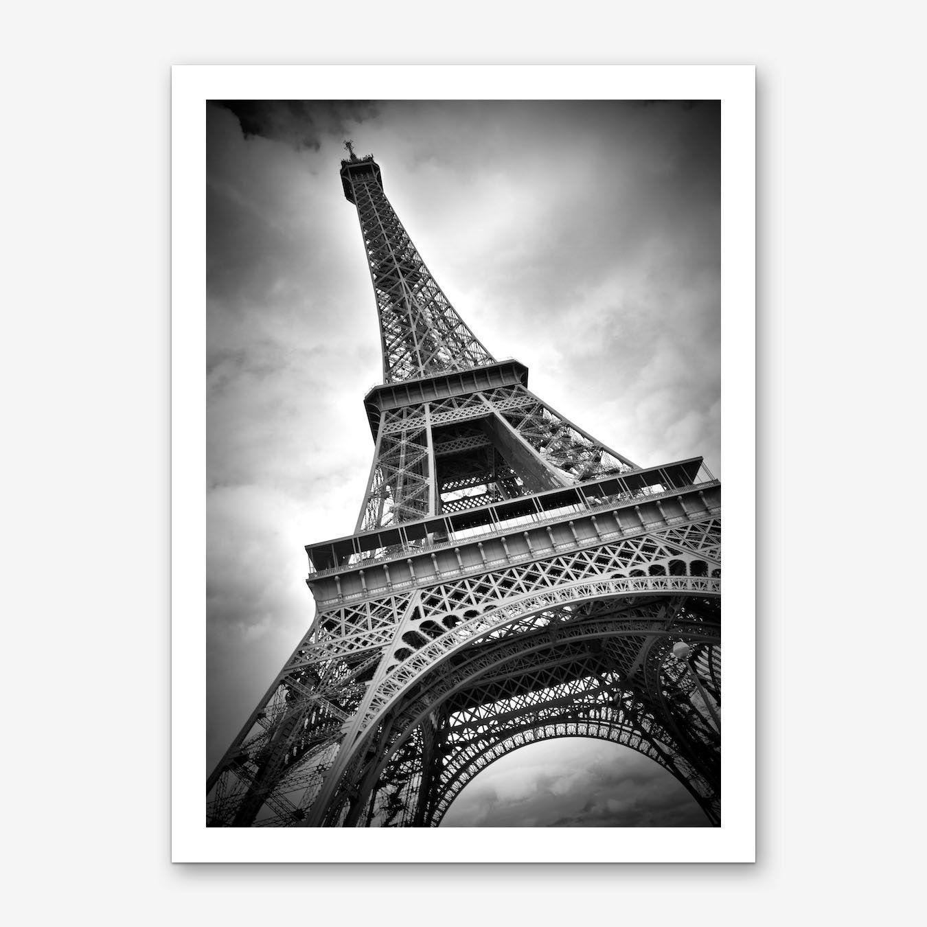 A4 sizes A1 A2 A3 Eiffel Tower Art Deco Poster