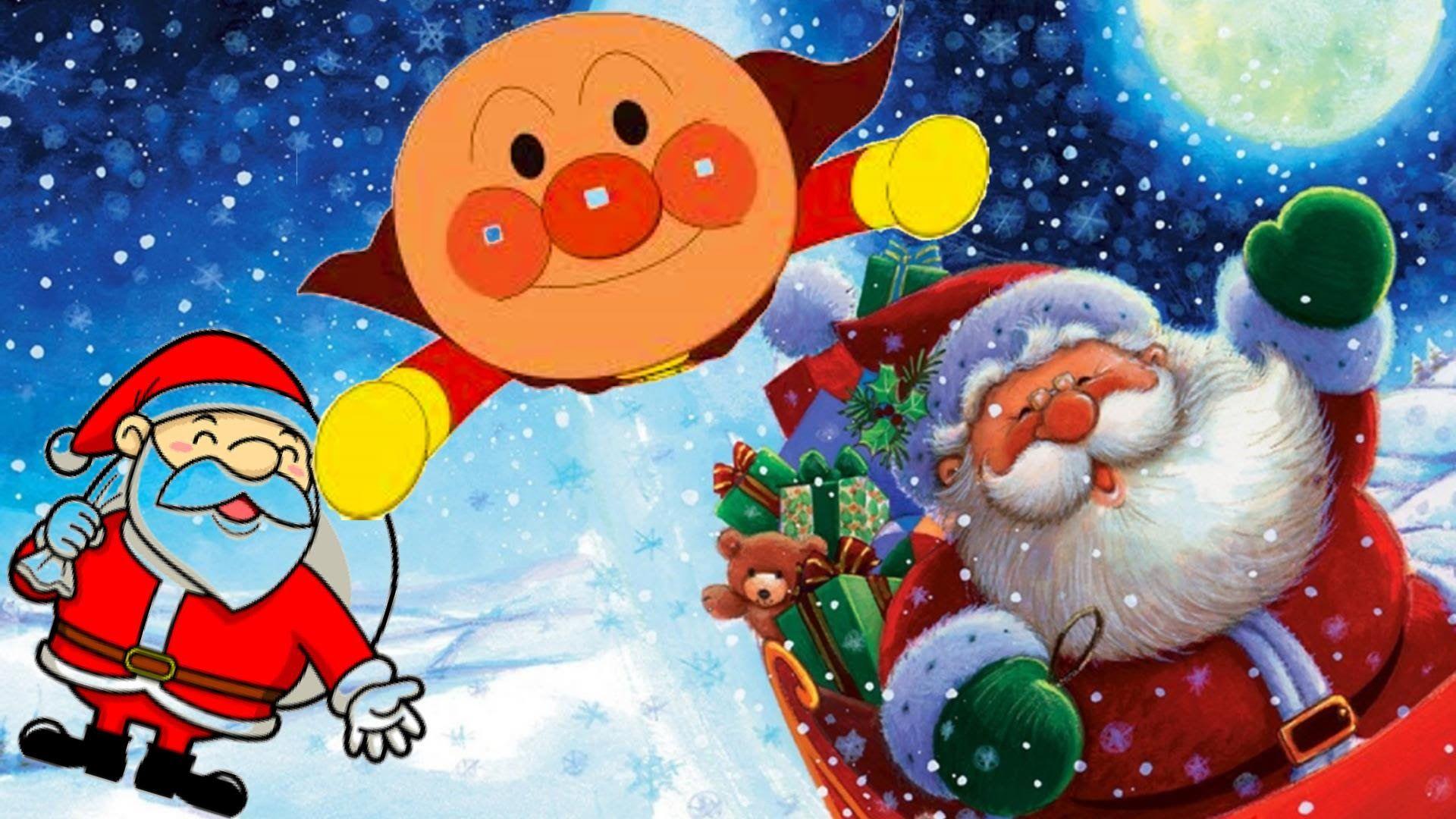 アンパンマンとピングー達でクリスマスあわてんぼうのサンタクロース