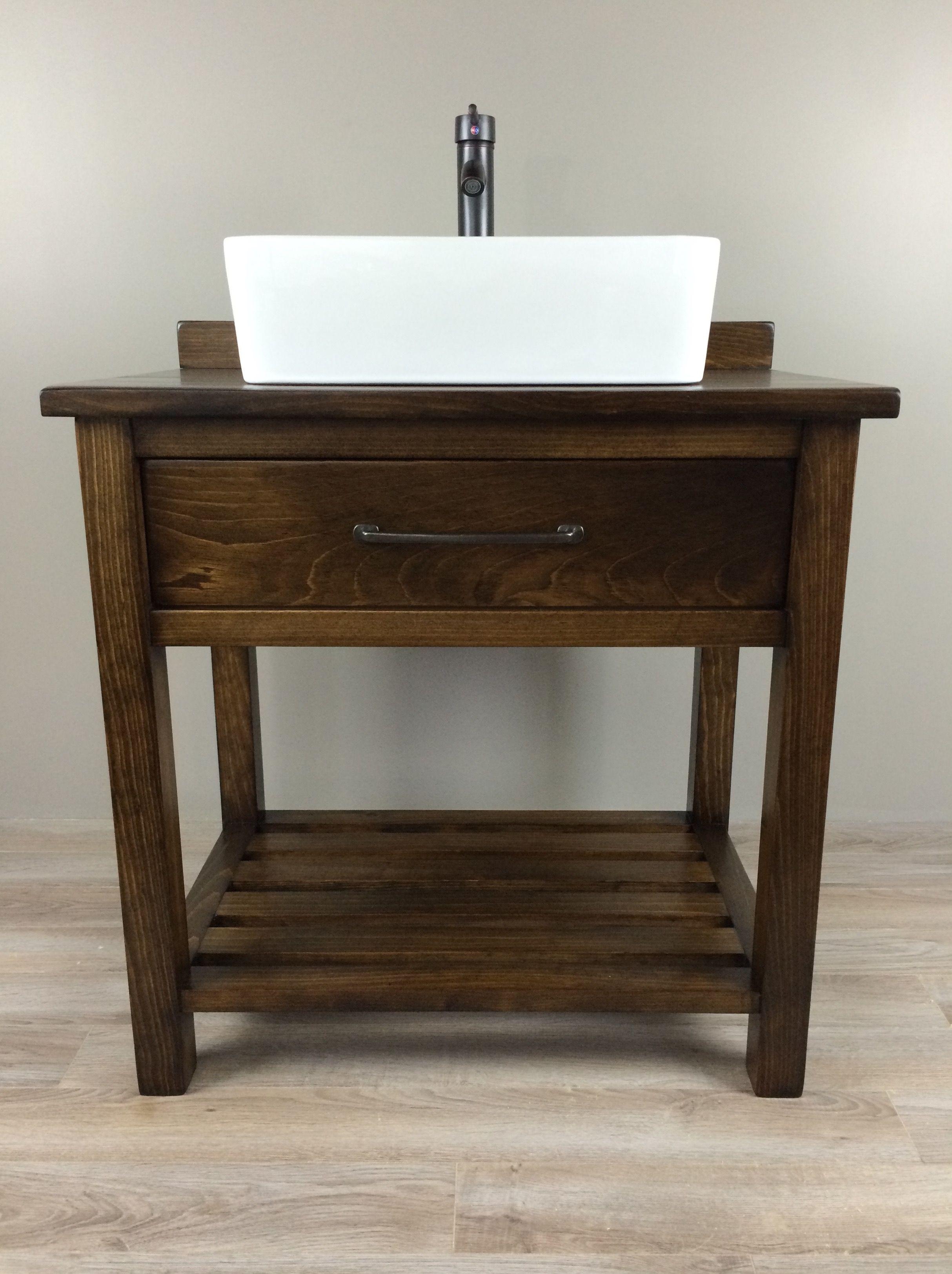 Best Custom Built Solid Wood Essex Modern Farmhouse Bathroom 400 x 300