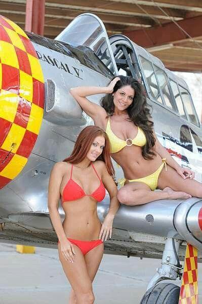 Bikini girls on airplanes, real drunk russian mature