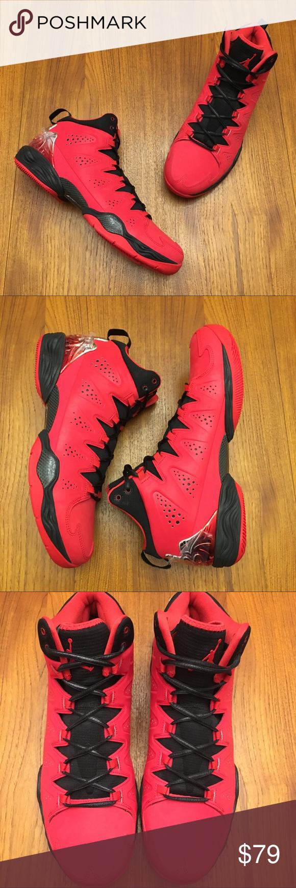 "6b107244865405 Jordan Melo M10 Fire Red New Size 12.5 Nike Air Jordan Melo M10 ""Fire Red"