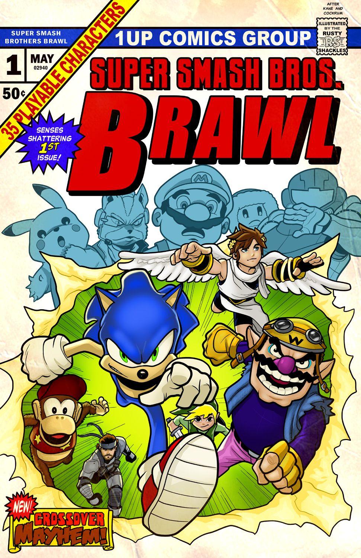 Super Smash Bros. Brawl Uncanny XMen parody