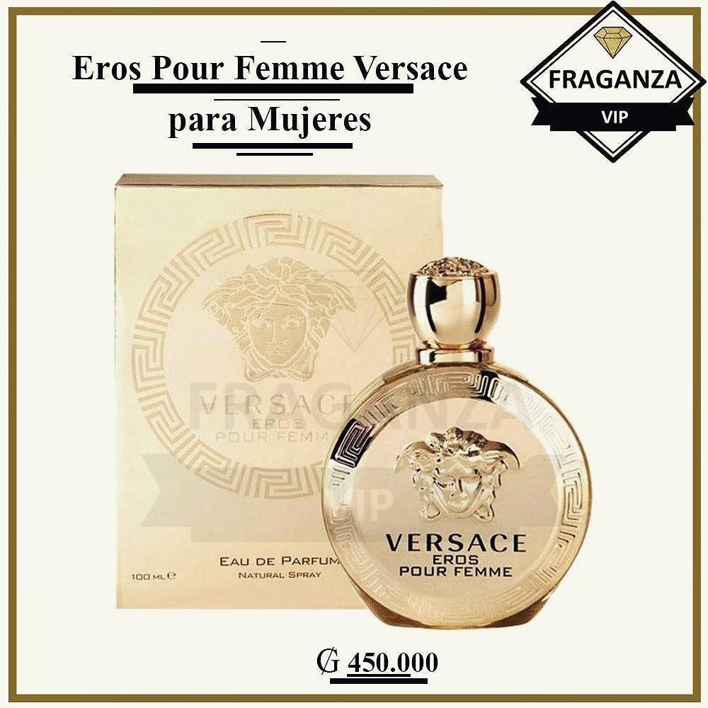 Eros Pour Femme Versace para Mujeres Una creación de la casa Versace ...