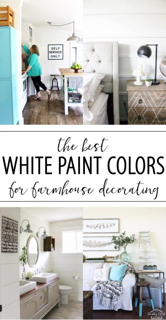 Picking the right white paint colors