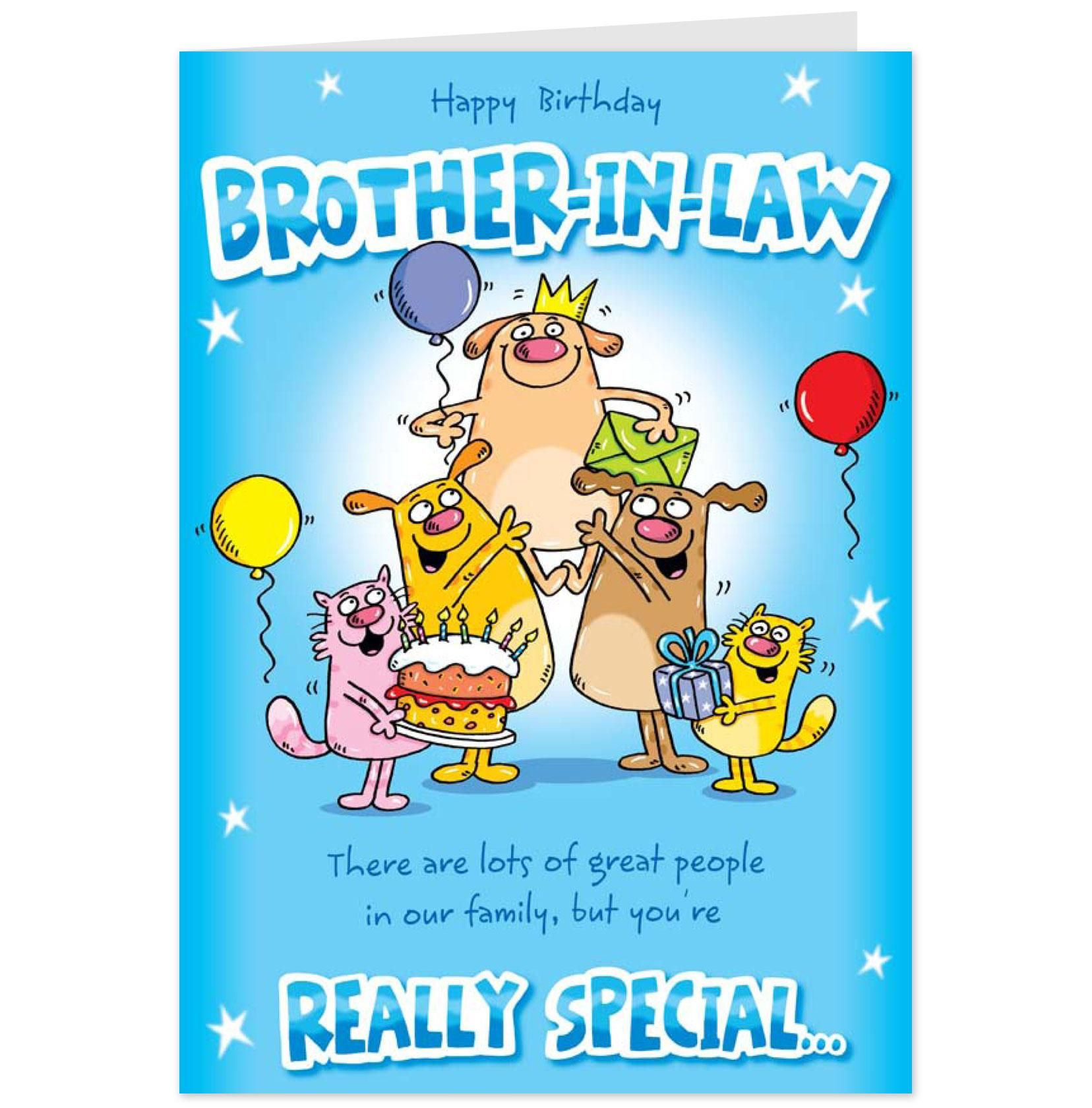 Happy Birthday Brother Funny Messages Really special brotherin – Happy Birthday Cards for My Brother