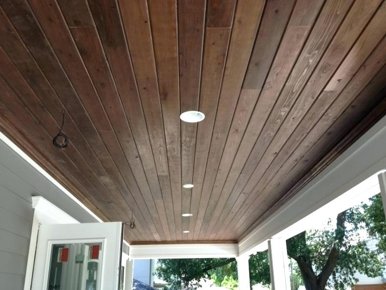 Tongue Groove Wood Ceiling Panels In 2020 Outdoor Ceiling Lights Wood Ceiling Panels Patio Ceiling Ideas