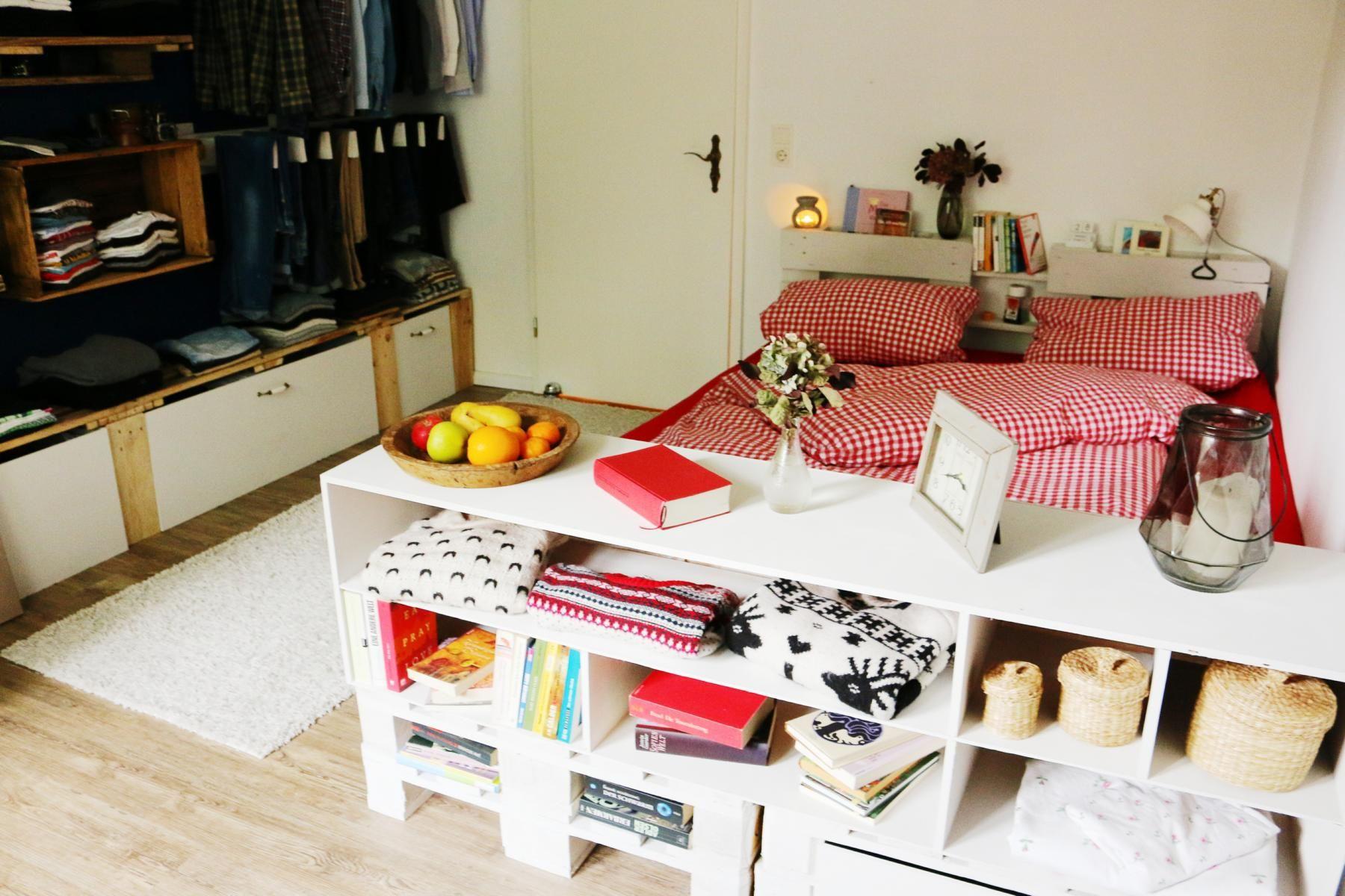 【ᐅᐅ】 Palettenbett Selber Bauen   Europaletten Bett DIY Anleitung U0026 Shop