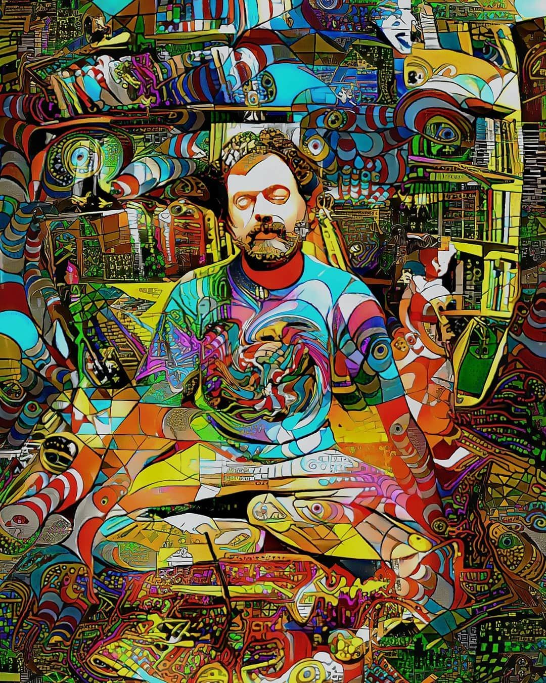 Terence Mckenna Art >> Pin By Claire Ingram On Art Psychedelic Art Surreal Art Art