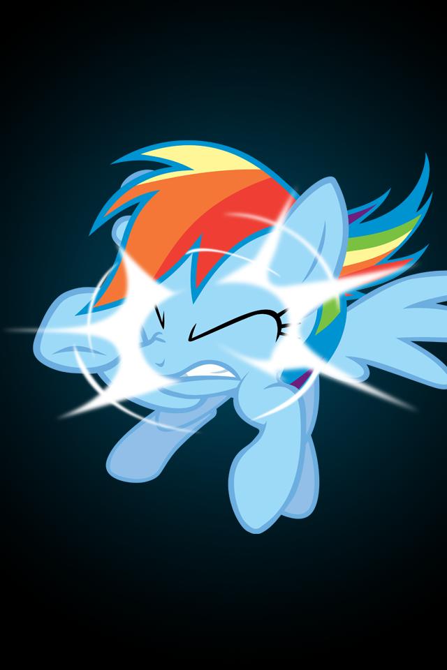 rainbow dash wallpaper My little pony Pinterest Rainbow dash