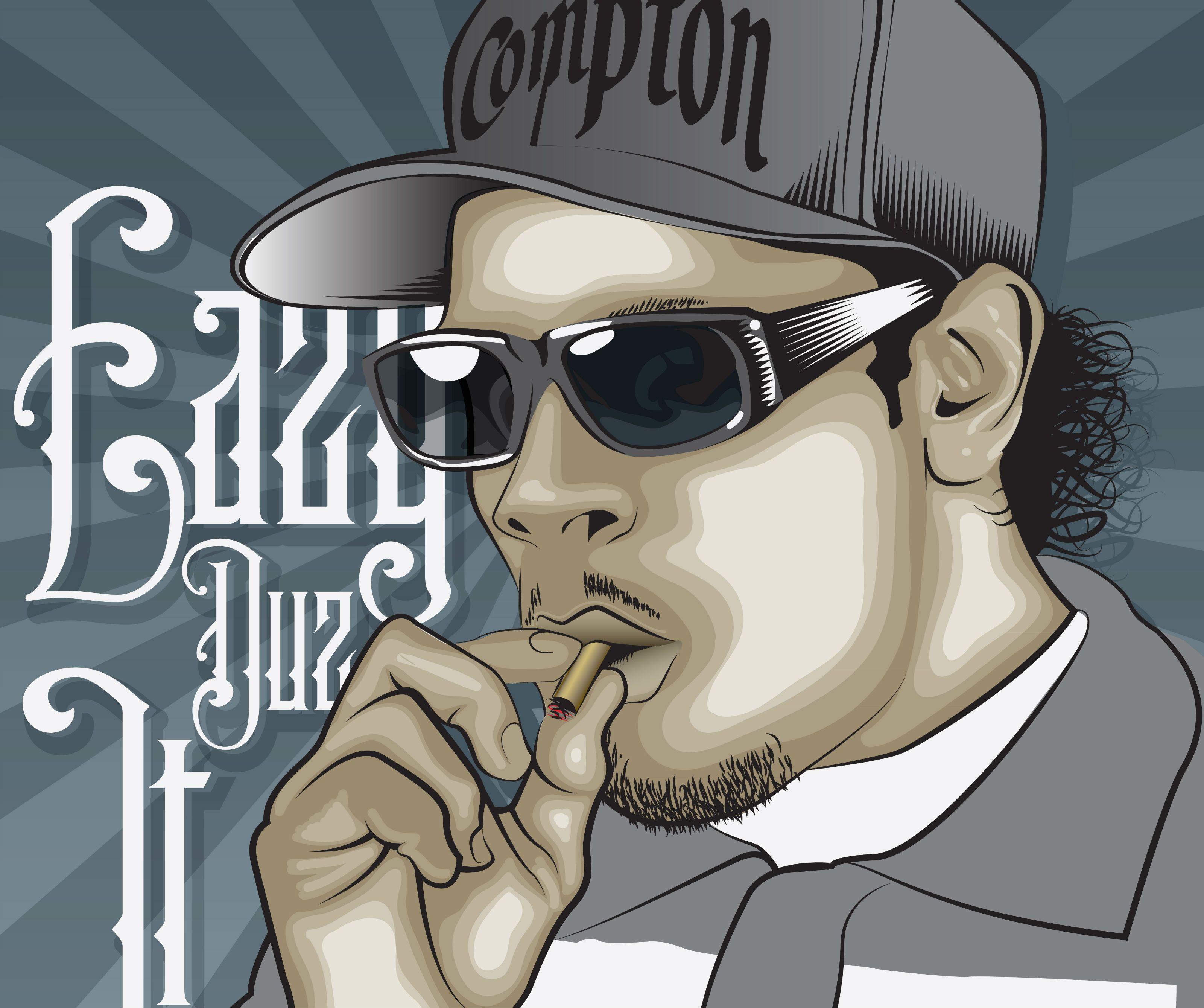 Eazy E Hd Background Hip Hop Art Hip Hop Rap