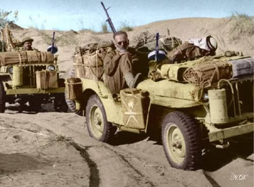 The Origins Of Greek Sof Wwii Vehicles Jeep Special Forces