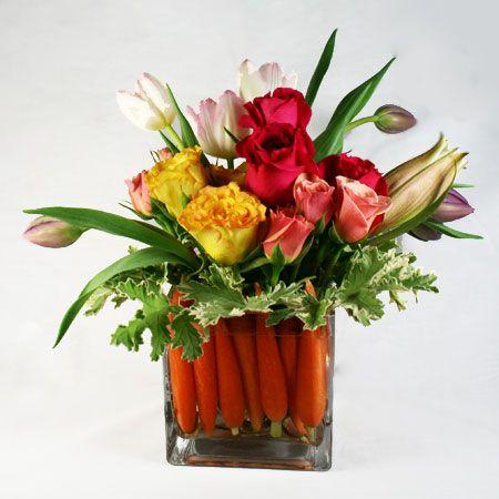 Floral Arrangement easter basket floral arrangement - fresh arrangement delivered in